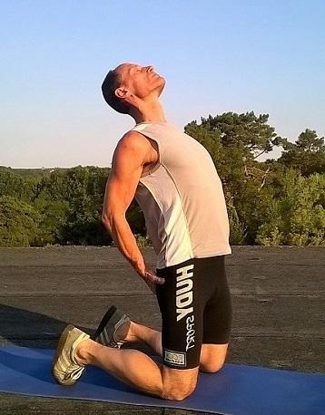 Übung gegen Haltungsschaden Rundrücken