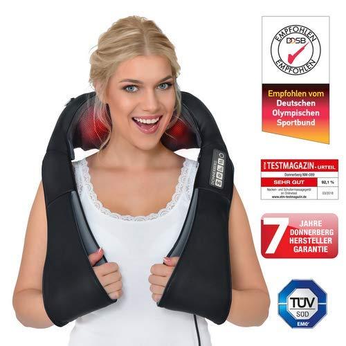 Shiatsu-Massagegerät für Rücken und Nacken