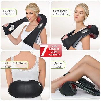 Shiatsu-Massagegerät Rücken, Nacken, Schulter