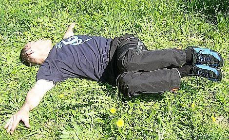 Bauch trainieren bei Schmerzen im unteren Rücken seitlich