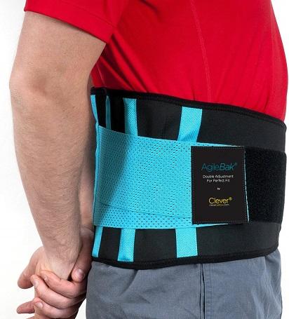 Rückengurt, Rückenbandage als schmerzlindernde Rückenstütze