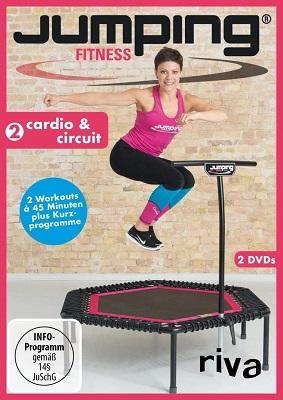 Fitnessprogramm auf dem Minitrampolin