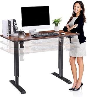 höhenverstellbarer Steh-Schreibtisch